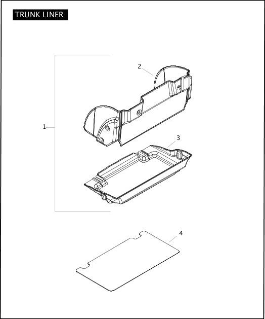 2010 Trike Model Parts Catalog|TRUNK LINER|Chester Harley