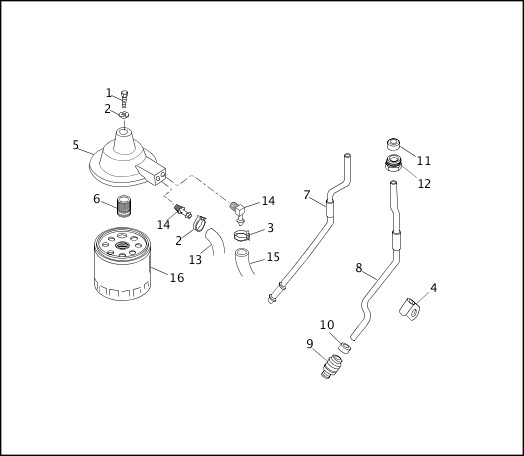 1991-1992 Softail Models Parts Catalog|OIL FILTERS