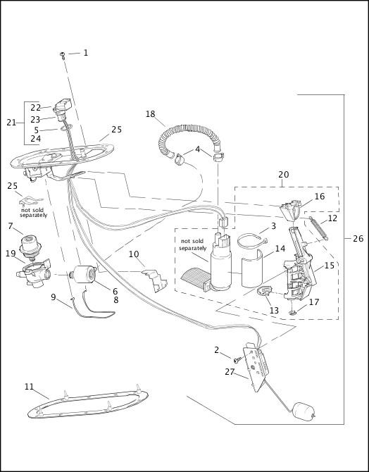 2002 FLHRSEI Parts Catalog|FUEL PUMP|Chester Harley-Davidson®