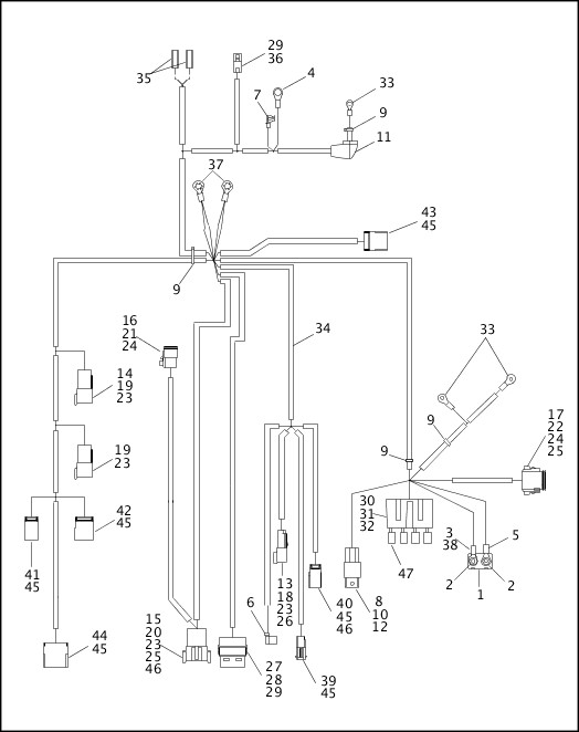 1995-1996 Dyna Models Parts Catalog|WIRING HARNESS, MAIN