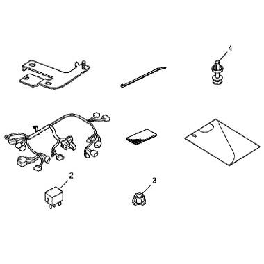 Acura online store : 2011 TSX REMOTE ENGINE START ATTACHMENT