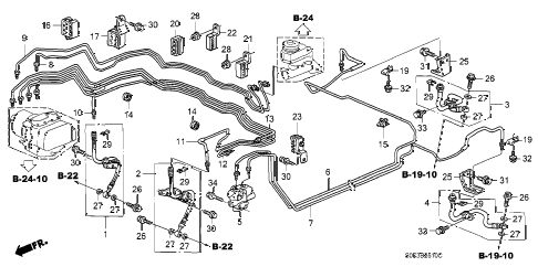 Acura online store : 2001 tl brake line parts