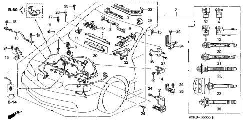 2001 Acura Tl Power Steering Parts Diagram
