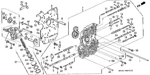 Acura online store : 1991 integra at main valve body parts