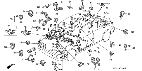 Acura online store : 1990 integra wire harness parts