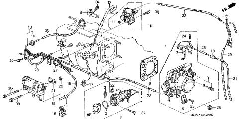 Acura online store : 1993 integra throttle body parts