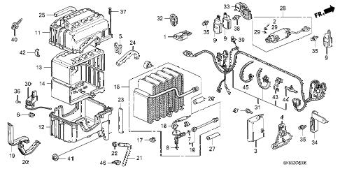 Acura online store : 1992 integra a/c unit parts