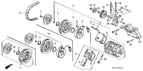 Acura online store : 1997 nsx a/c compressor (2) parts