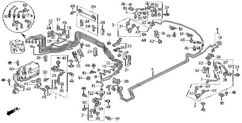 Acura online store : 1994 vigor brake lines parts