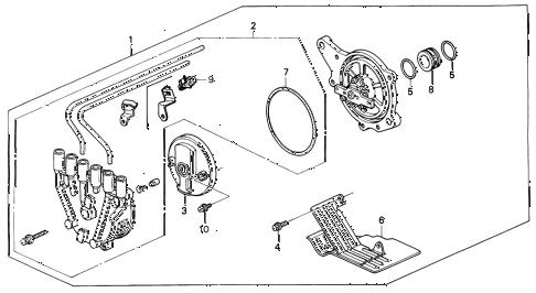 Acura online store : 1994 vigor distributor (tec) parts
