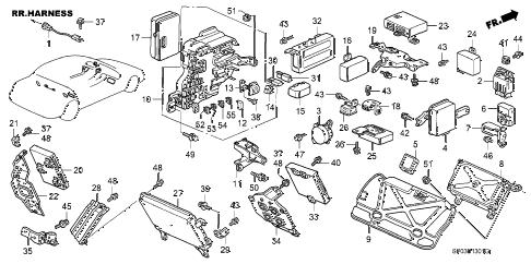 Acura online store : 1994 legend control unit (2) parts