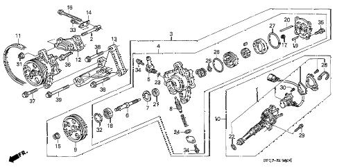 Acura online store : 1994 legend p.s. pump parts