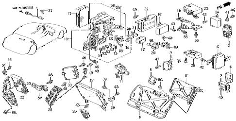 Acura online store : 1991 legend control unit (2) parts