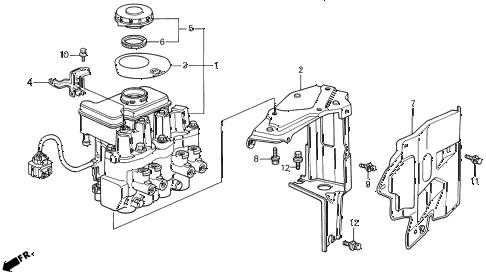 Acura online store : 1992 legend a.l.b. modulator parts