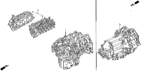 Acura online store : 1991 legend engine assy