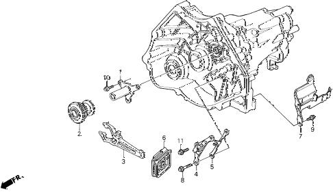 Acura online store : 1995 legend mt clutch release parts