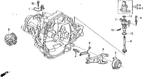 Acura online store : 2000 integra mt clutch release parts