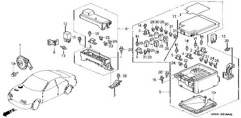 Acura online store : 1999 integra control unit (engine