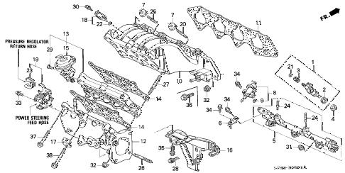 Acura online store : 1999 integra intake manifold (2) parts