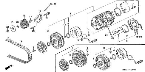 Acura online store : 2002 rl a/c compressor parts