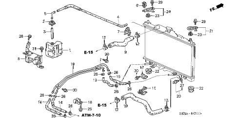 Acura online store : 2004 rl radiator hose parts
