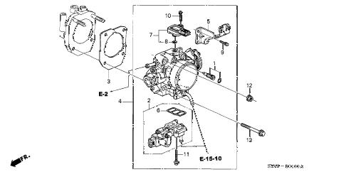 Acura online store : 2002 mdx throttle body (1) parts