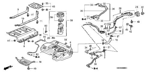 Acura online store : 2001 mdx fuel tank (1) parts