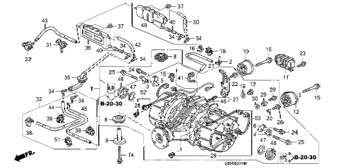 Acura online store : 2002 mdx rear differential parts