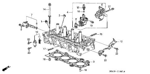 Acura online store : 2004 rsx vtc oil control valve parts