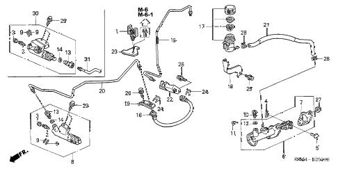 Acura online store : 2004 rsx clutch master cylinder parts