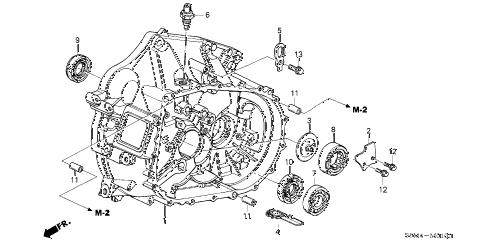 Acura online store : 2005 rsx mt clutch case parts