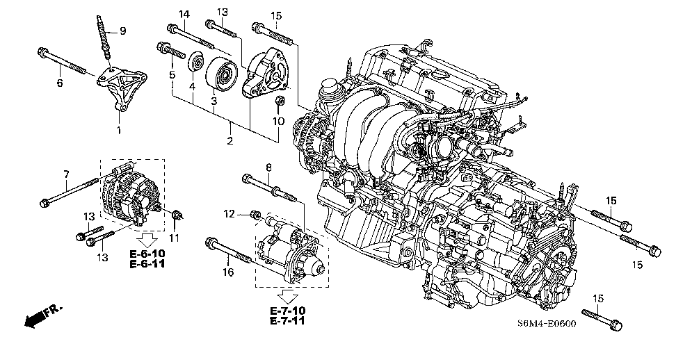Acura Rsx Engine Schematic, Acura, Free Engine Image For