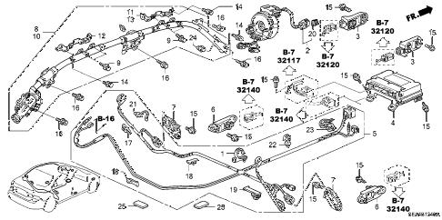 Acura online store : 2005 tsx srs unit parts