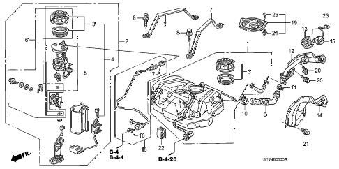 Acura online store : 2006 tl fuel tank parts