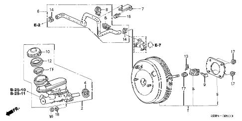 Acura online store : 2004 tl brake master cylinder