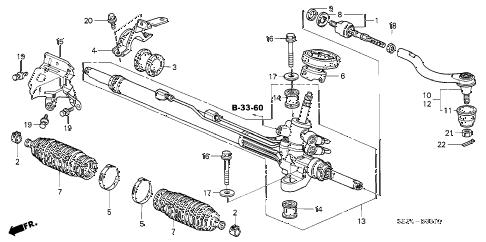 Acura online store : 2004 tl p.s. gear box parts