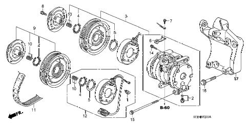 Acura online store : 2004 tl a/c compressor parts