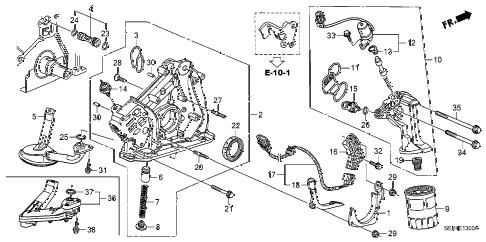 Acura online store : 2006 tl oil pump parts