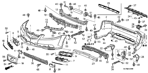 Acura online store : 2008 tl bumpers parts