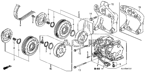 Acura online store : 2005 rl a/c compressor parts