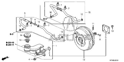 Acura online store : 2011 mdx brake master cylinder