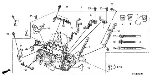 Acura online store : 2012 mdx engine wire harness (2) parts