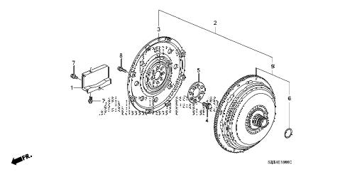 Acura online store : 2007 mdx torque converter parts