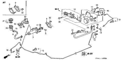Acura online store : 2004 nsx clutch master cylinder parts
