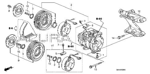Acura online store : 2009 tl a/c compressor parts