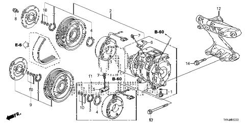Acura online store : 2013 tl a/c compressor parts