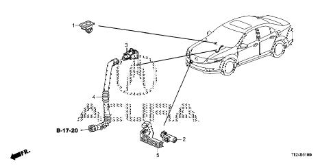 Acura online store : 2011 tsx a/c sensor parts