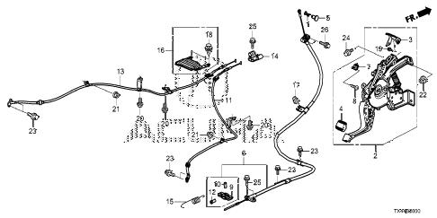 Acura online store : 2013 rdx parking brake parts