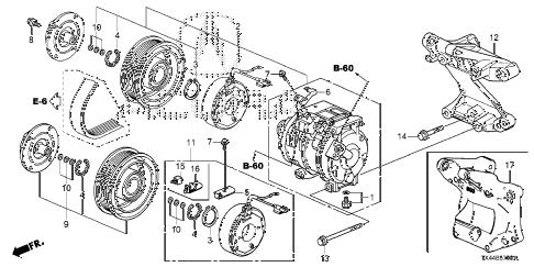 Acura online store : 2013 rdx a/c compressor parts