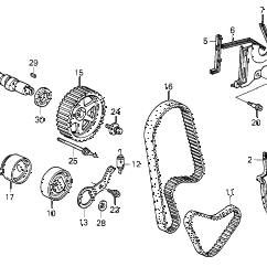 1992 Honda Accord Engine Diagram 2016 Dodge Ram 1500 Stereo Wiring Online Store Camshaft Timing Belt Parts Lx 5 Door 4at